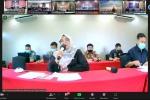 Pengadilan Agama Sukadana Mengikuti Pembinaan Administrasi Peradilan Agama Tentang Pengisian Laporan Data Secara Virtual